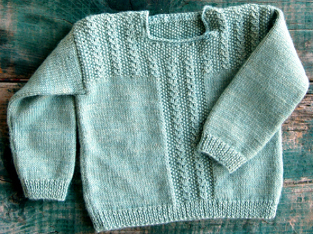 Free Baby Jumper Knitting Pattern : Free Sweater Knitting Pattern for Babies (VIDEO) - Craftfoxes