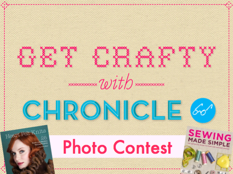 chronicle books crafts contest