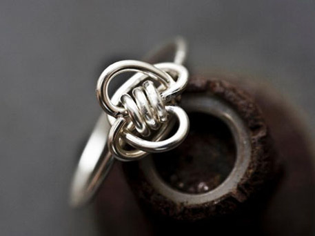 DIY Wire Knot Ring Tutorial