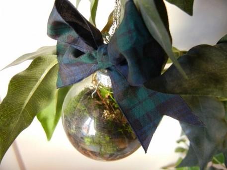 DIY terrarium Christmas ornament