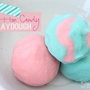 cotton candy play dough recipe