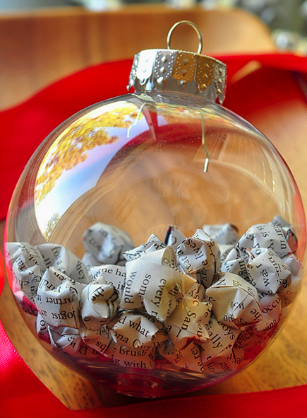 paper star christmas ornament how-to