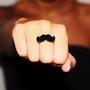 Make a diy mustache ring