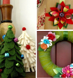 Upcycled Holiday Decor with Betz White