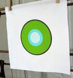 Modern Circles Quilt Block (Free Quilt Block Pattern)