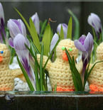 Weekend Project — Crochet Easter Chicks