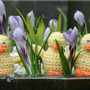 Easter crochet chicks