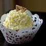 wedding cake ideas, doily cupcakes