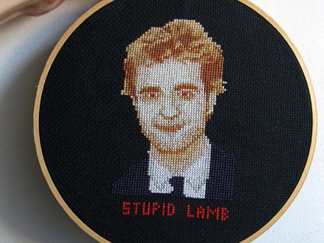Twilight crafts Robert Pattinson