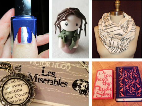 Les Miserables movie crafts