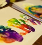 Handprint Crafts and Fingerprint Crafts for Kids
