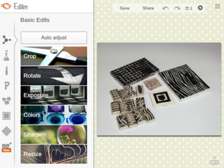 photo editing tools at CraftFoxes