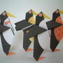 origami penguins by Andrew Dewar