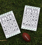 Super Bowl Crafts for Kids — Free Bingo Printable
