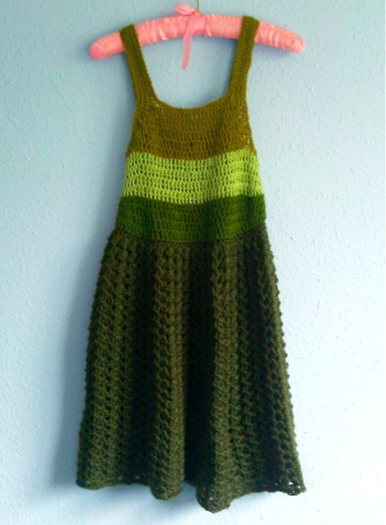 Crocheted Simple Dress Pattern