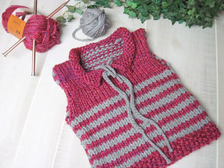 easy knit vest pattern