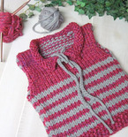 Weekend Project — Easy Knit Vest Pattern