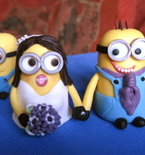Wedding Cake Ideas — 'Despicable Me' Cake Topper