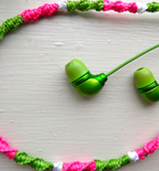 DIY Floss-Wrapped Headphones
