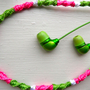 DIY for teens: floss wrapped earbuds