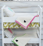 DIY Linens for a Doll Bunk Bed