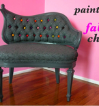 Reupholster Furniture with Paint