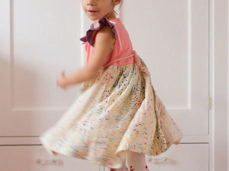 easy dress patterns for girls