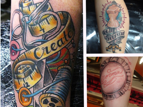 Tattoos for crafters