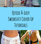 8 Quick and Easy Swimsuit Cover Ups
