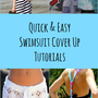8 Quick and Easy Swimsuit Cover Up Tutorials