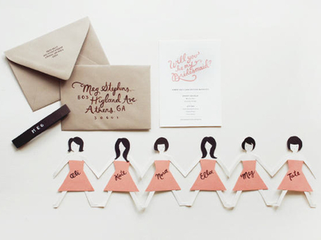 DIY Wedding Crafts — Ideas to Ask Bridesmaids - Craftfoxes