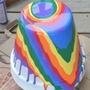 Pinterest crafts diy painted flower pot