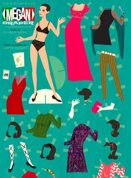 Mad Men Crafts: Paper Dolls (Free Printables)