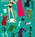 'Mad Men' Style Paper Dolls — Free Printable