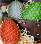 'Game of Thrones' Craft — Dragon Egg Cookies