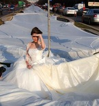 Handmade Wedding Dresses — World's Longest Train