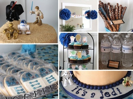 star wars baby shower ideas