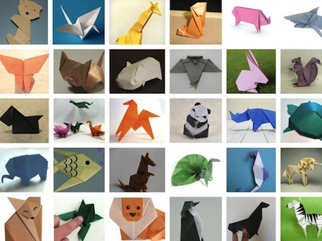 easy origami animal instructions for kids