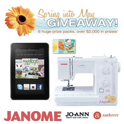 Janome sewing machine giveaway