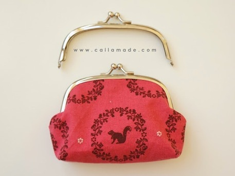 Free Sewing Pattern: Metal Frame Purse