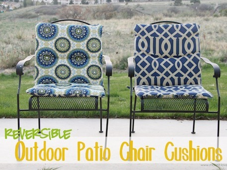 Sewing Tutorial For Outdoor Patio Chair Cushions