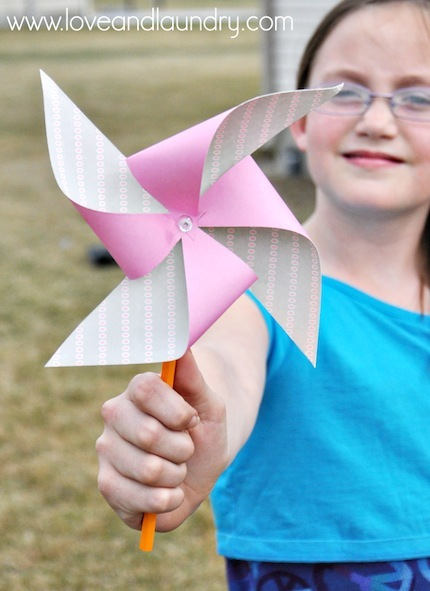 Make a Paper Pinwheel