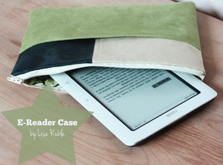 Sew an e-Reader Case (Free Sewing Pattern)