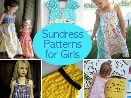 Summer Sundress Patterns for Girls