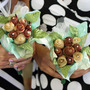 bacon wedding bouquet