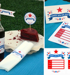 Free Printables: Fourth of July Party Decor