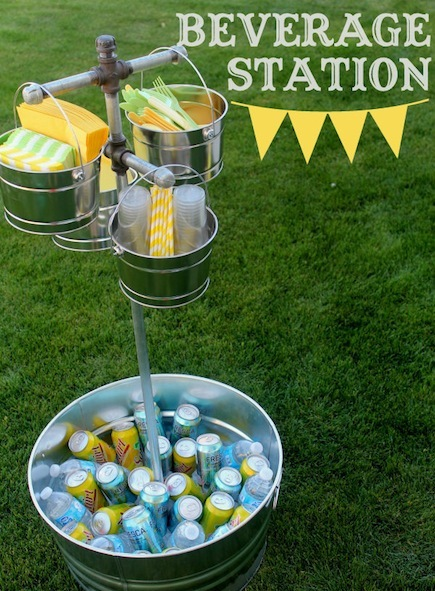 Outdoor Beverage Station