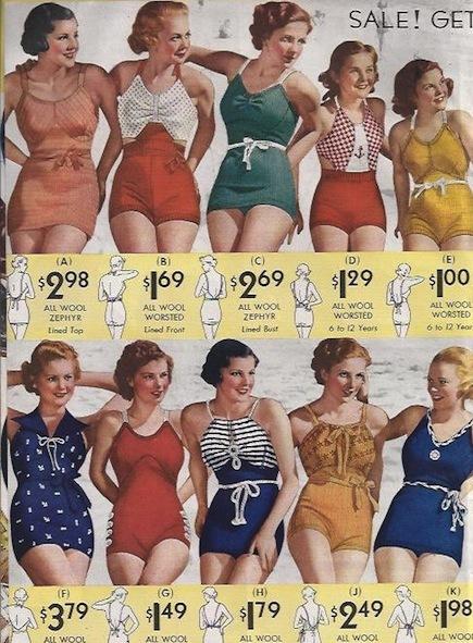 Vintage Swimwear Inspiration