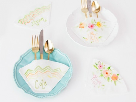 Coffee Filter Place Settings