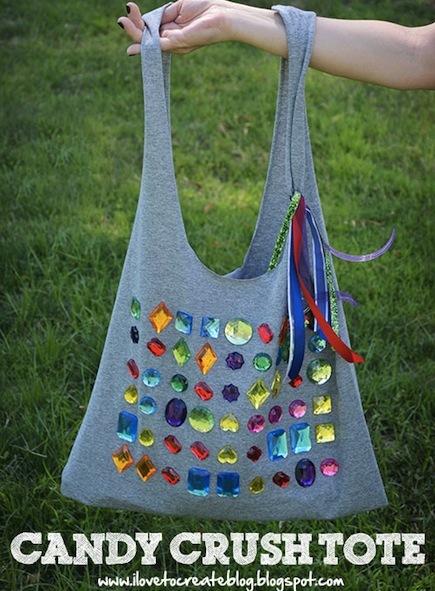 Candy Crush Saga Tote Bag
